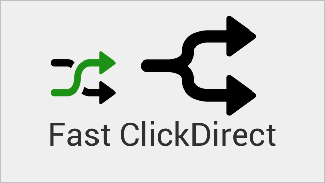 Fast ClickDirect