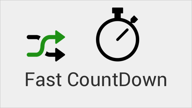 Fast CountDown