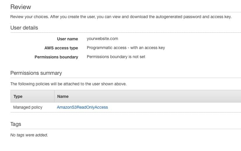 Fast Member Amazon IAM Review User Permissions