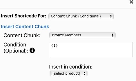 Fast Member Content Chunk Product ID