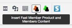 Fast Member Payment Buttons Shortcode Icon
