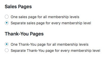Fast Member Quick Start Wizard Sales and Thank You Pages