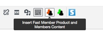 Fast Member Shortcode Icon