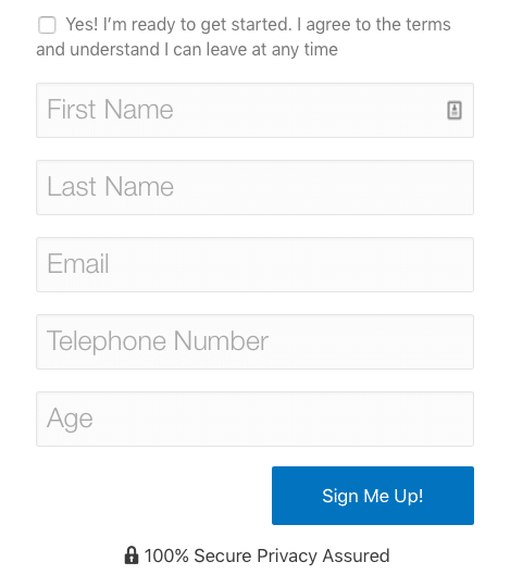 Signup Extra Fields
